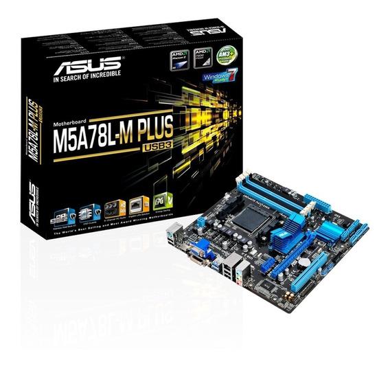 Placa-mãe Asus Amd Am3 M5a78l-m Plus Usb3 - Fx8300 E Fx8320