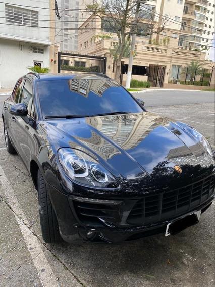 Porsche Macan 2.0 Turbo 2017 Preta Blindada