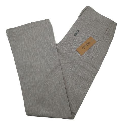 Pantalon Mujer Gabardina Moda Semi Oxford Okoche  Ok6336