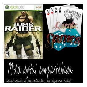 Tomb Raider Underworld Midia Digital + Brinde Xbox 360