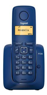 Teléfono inalámbrico Gigaset A120 azul