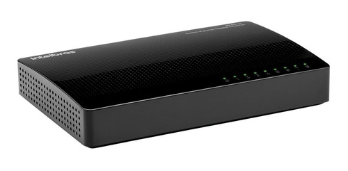 Imagem 1 de 2 de Switch 8 Portas Gigabit Ethernet Com Qos Sg 800 Q+ Intelbras