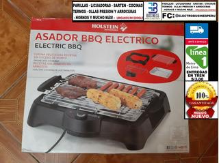 Remate: Asador Bbq Electrico Holstein Producto Nuevo