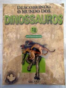 Miniatura Descobrindo O Mundo Dinossauros 18 Psittacosaurus