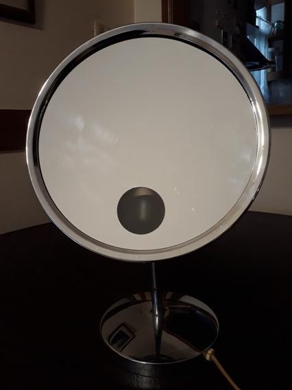 Espejo Con Aumento Y Luz