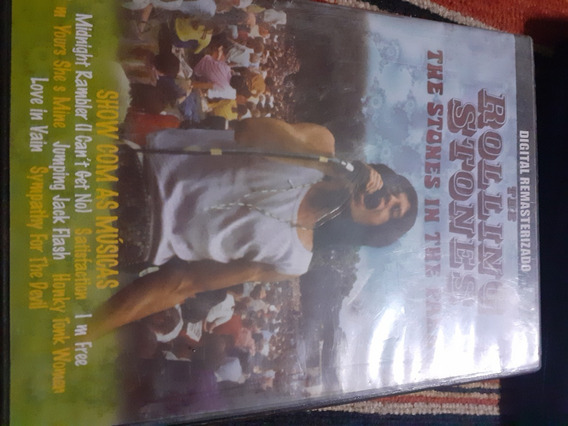 Rolling Stones Stones- The Stones In The Park- Dvd Live