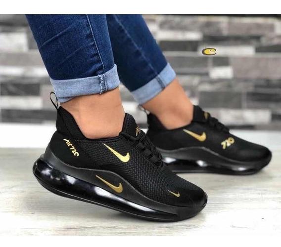 Zapatos Deportivos Mujer, Tenis Mujer , Nk 720,moda