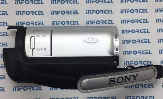Carcaça Frente Corda Tampa Carregador Sony Dcr Sx83 Original