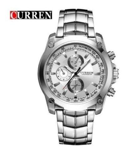 Relógio Curren Masculino Aço Inoxidável M.8025