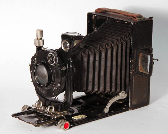 Câmera Voigtlander Braunschweig. Anos 20
