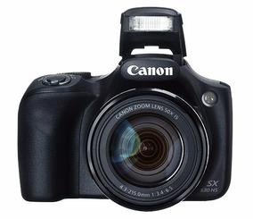 Maquina Digital Para Iniciante Canon Powershot Sx530-wi-fi