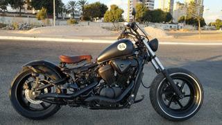 Moto Honda Shadow Vt 600 Custom Bobber Customizada