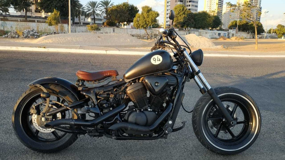 Moto Honda Shadow Vt 600 Custom Bobber Customizada