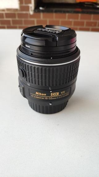 Nikon Lente Nikkor 18-55mm F3.5-5.6