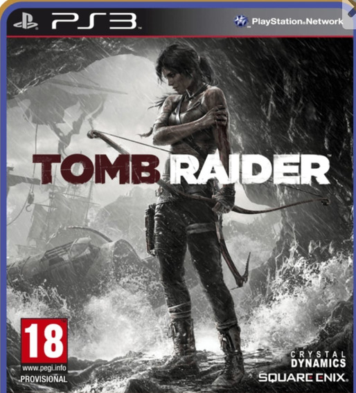 Ps3 Tomb Raider Jogo Em Oferta Play 3