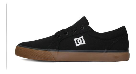 Tênis Skatista Dc Shoes Episo Preto/marrom Original + Frete