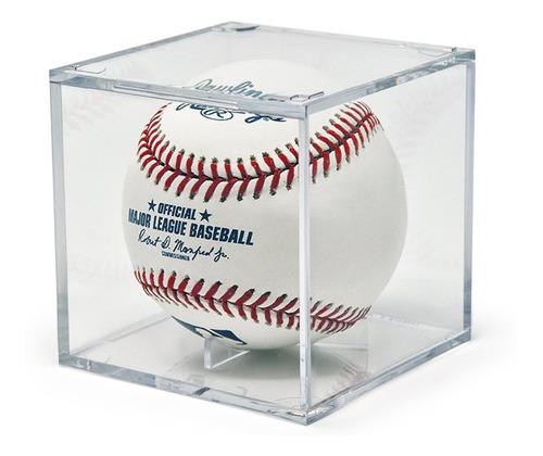 Imagen 1 de 3 de Base Transparente Exhibidor Porta Pelotas Beisbol Baseball