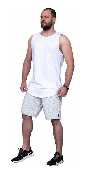 Kit 2 Bermudas Moletom Masculino Academia Esporte Academia