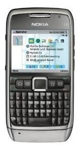 Nokia E71 Gsm Desbloqueado Teléfono Con Symbian Os 9.2, 5-wa