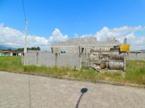 Casa Térrea Para Terminar Construção A Venda Na Praia De Per