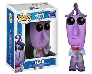 Funko Pop! Disney Inside Out Fear - Funko Pop