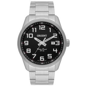 Relógio Orient Masculino Prata Resistente A Agua