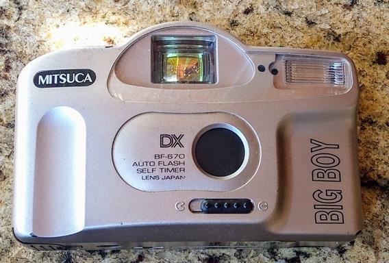Câmera Analógica Mitsuca Dxbf-670(ótimo Estado)