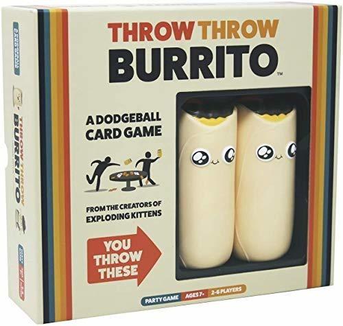 Lanzar Burrito Por Exploding Kittens - Un Juego De Cartas D