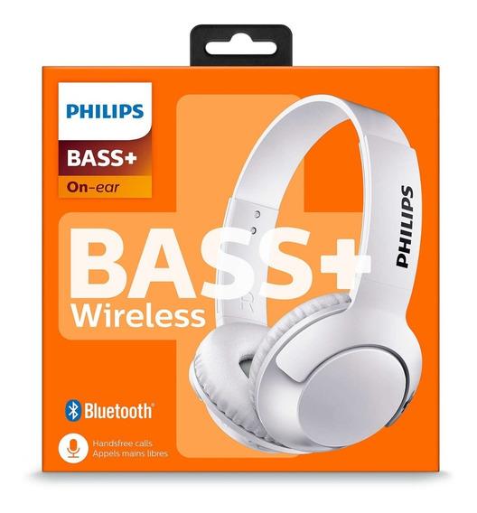 Fone De Ouvido Bluetooth Sem Fio Shb3075, Philips, Branco