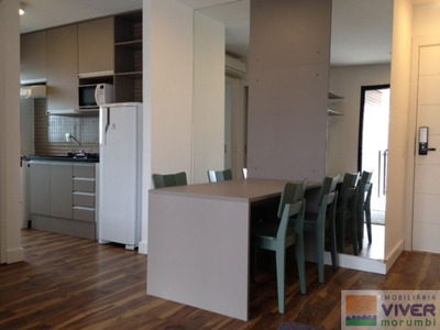 Lindo Apartamento Mobiliado No Brooklin - Nm4995