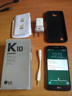 Lg K10 Power Tv - Sem Trincados - Bateria Durando 2 Dias