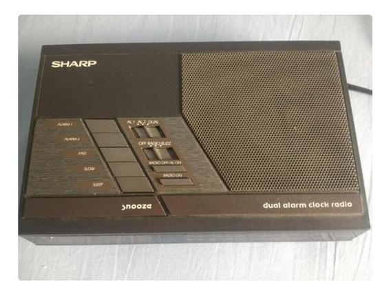 Radio Relógio Sharp Retro