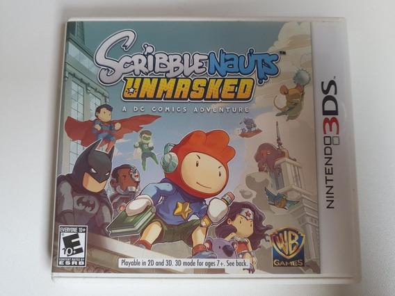 Scribblenauts Unmasked- Nintendo 3ds
