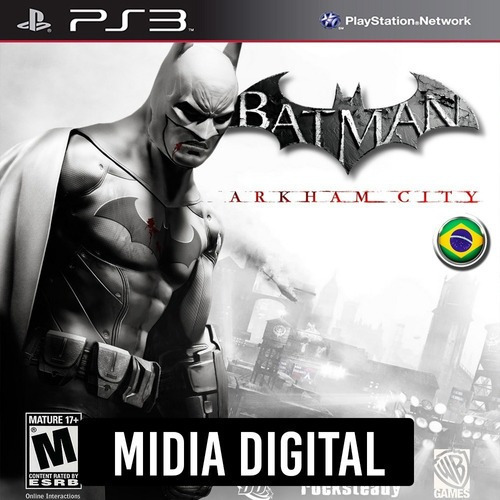 Ps3 Psn* - Batman Arkham City