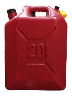 Envase 20 Litros Gasolina, Bidon 20 Litros, Porron 20 Litros