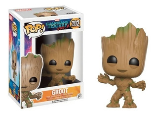 Funko Pop Guardians Of The Galaxy Groot Modelo 202 Soy Gamer