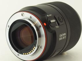 Lente Sony 100mm F/2.8 Macro A-mount