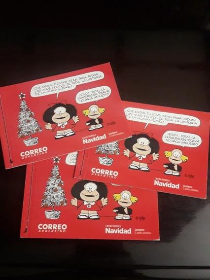 Filatelia Carnet Mafalda 2017 Navidad