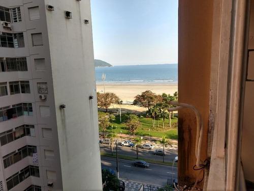 Apartamento Com 3 Dormitórios Para Alugar, 130 M² Por R$ 5.600,00/mês - Boqueirão - Santos/sp - Ap1840