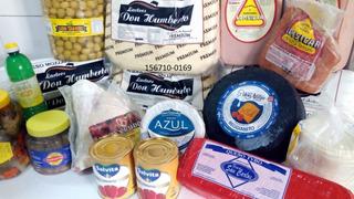Muzzarella, Fiambres, Aceitunas, Enlatados, Especias, Anchoa