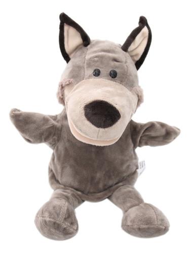 Imagen 1 de 6 de Marioneta De Mano De Animales Zoológico De Peluche Suave