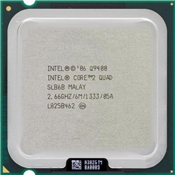 Processador Intel Core 2 Quad Q9400 775 + Garantia + Pasta