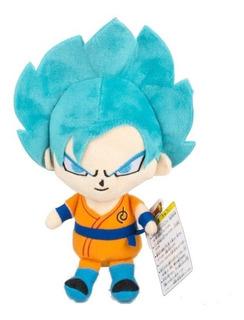Peluche Goku Super Saiyan Blue Original Importado Dragonball