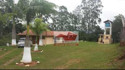 Sítio Rural À Venda, Parque Residencial Do Itapeti, Mogi Das Cruzes. - Si0001