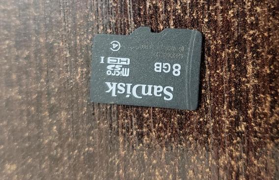 Cartão De Memoria Sandisk 8g - Usado