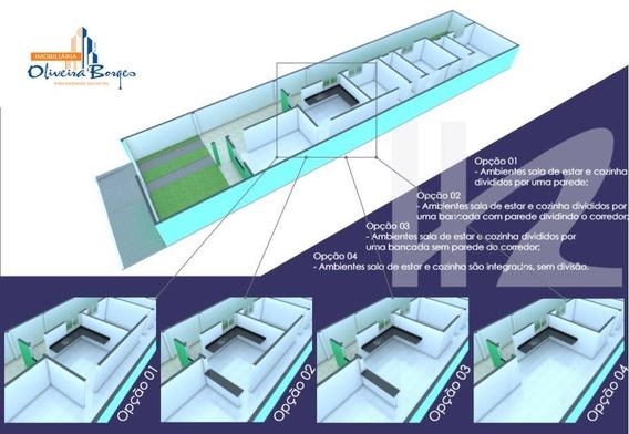 Casa Com 3 Dormitórios À Venda, 100 M² Por R$ 165.000,00 - Gran Ville - Anápolis/go - Ca0994