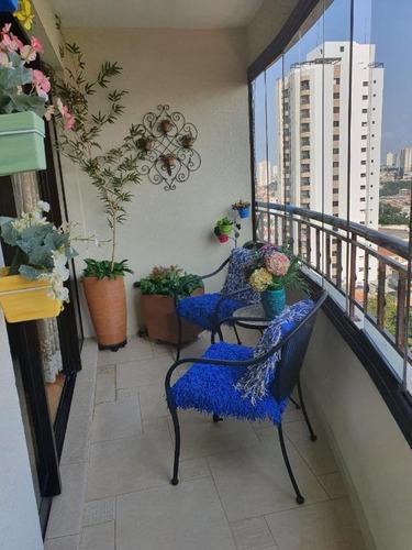 Imagem 1 de 30 de Apartamento À Venda, 96 M² Por R$ 850.000,00 - Mooca - São Paulo/sp - Ap5853