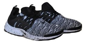 Kp3 Zapatos Caballeros Nike Air Presto Clasico Gris Negro