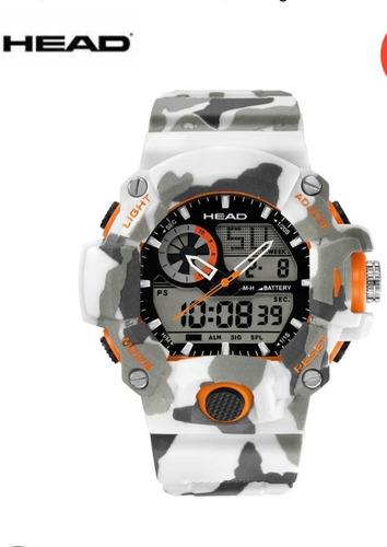 Relógio Masculino Head Watches-original Na Caixa-a Prova D'água-pronta Entrega-exclusivo-valor Promocional
