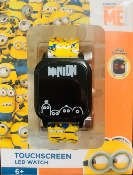 Reloj Minion Touchscreen Led Nuevo Original